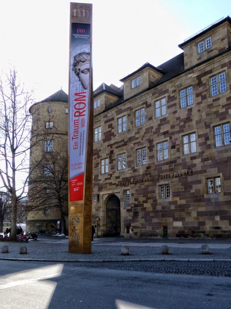 Römermuseum Stuttgart: Landesmuseum Württemberg