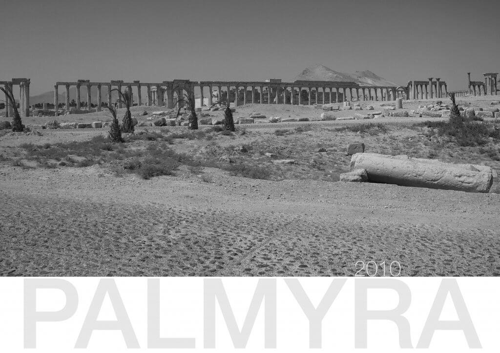 Kolonnadenstraße in Palmyra