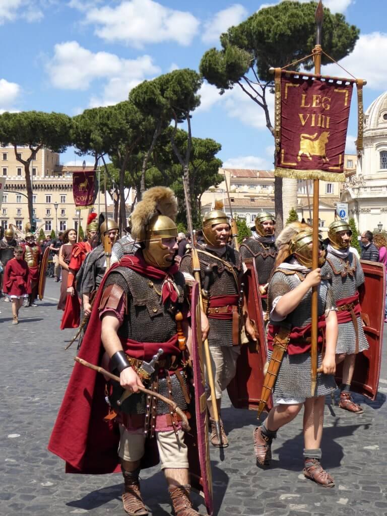 Darsteller der 9. römischen Legion Hispana