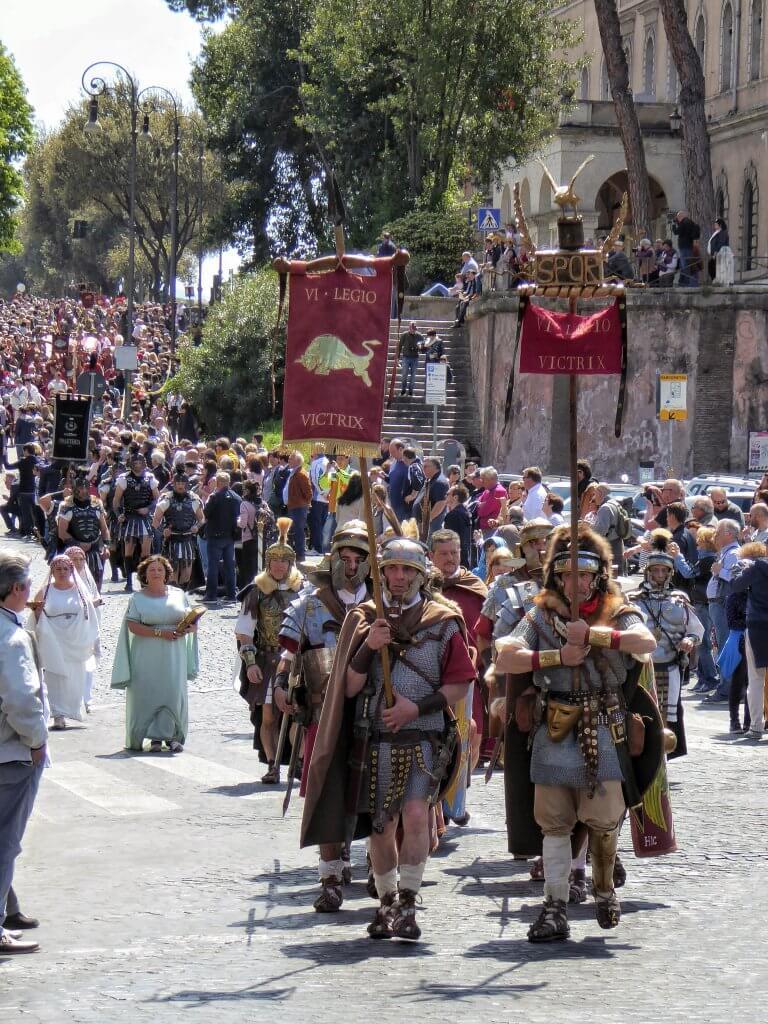 Die Legio 6 Victrix - die Siegreiche - kommt
