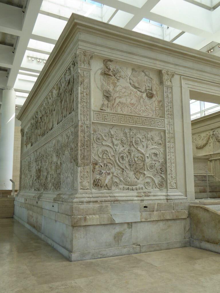 Relief mit dem Gründungsmythos Roms