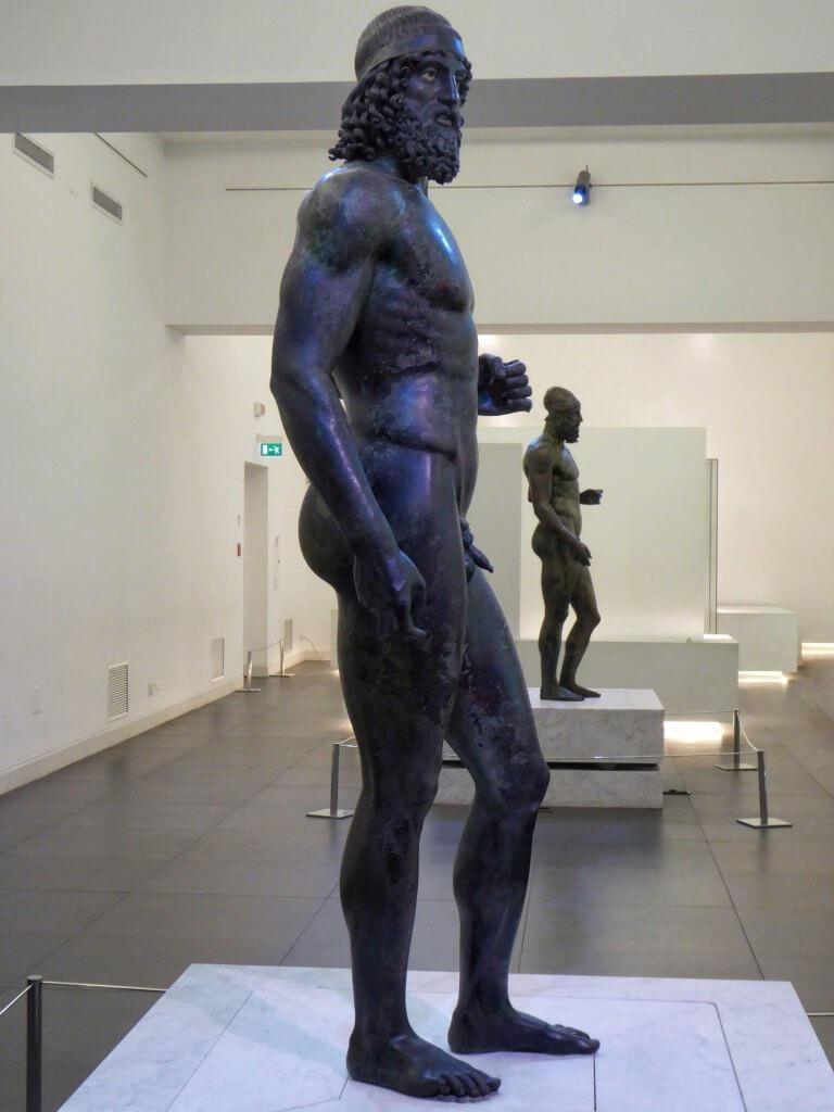 Die Bronzen von Riace: Krieger A und Krieger B